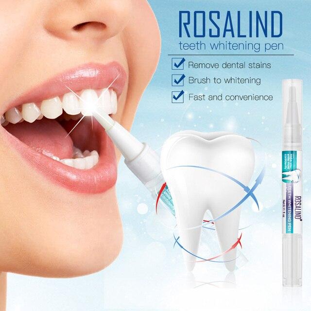 ROSALIND Popular White Teeth Whitening Dazzling Pen Gel Vibrant Glamour Dental Instrument Veneers For Teeth Advanced Cleaning