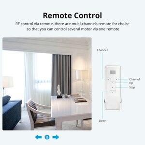 Image 4 - Zemismart Tuya Zigbee занавес трек Alexa Echo Google управление дома через Smart Life смарт вещи электрические шторы
