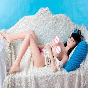 Image 3 - Bambola del sesso 100 centimetri 09 # Pieno TPE con Scheletro Adulto giocattolo del sesso Bambola di Amore Della Vagina Realistica Figa Realistico Sexy bambola Per Gli Uomini giocattolo del sesso