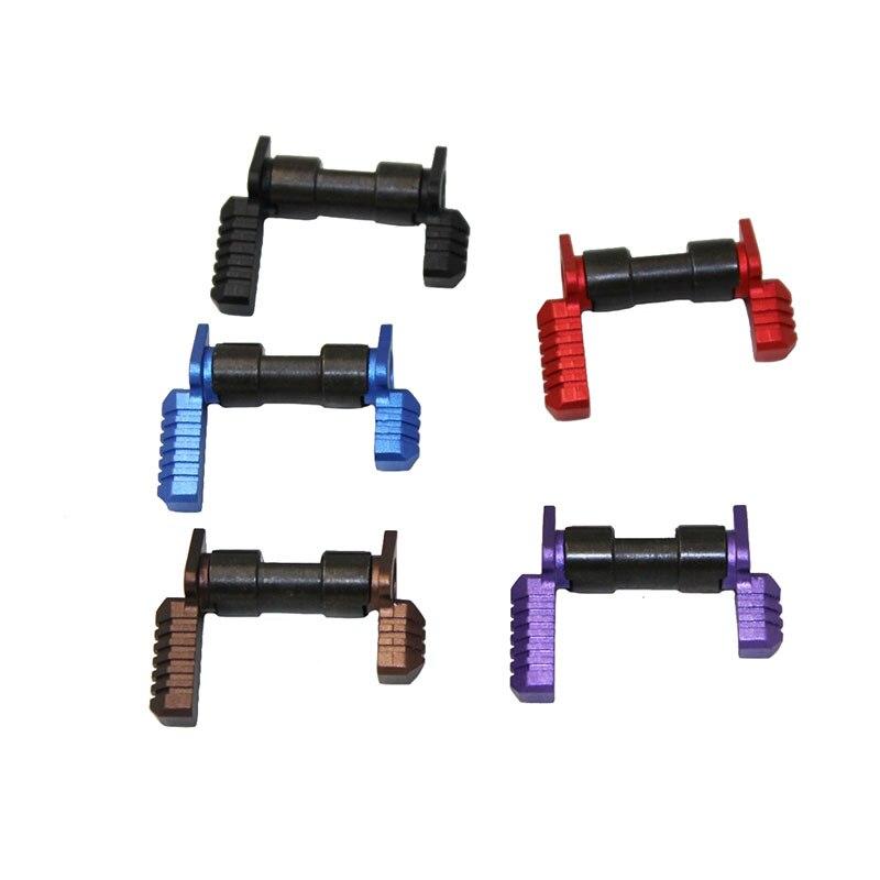 טקטי. 223 5.56 מותאם לשתי ידות בטיחות בורר מתג Mil-Spec פלדה עבור AR15 אביזרי רובה אקדח מתג