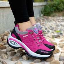 Sneakers Outdoor Trekking-Shoes Women Breathable Winter for Lightweight Hiking Air-Cushion