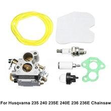 Carro Carburador Carb Carburador para Motosserra 574719402 545072601 para Husqvarna 235 235E 236 240 240E