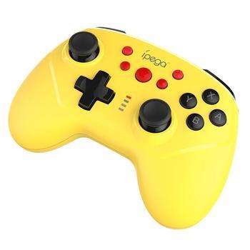 Dla IPEGA PG-9162 bezprzewodowy i drutu przełącznik gamepad Joypad pilot zdalnego sterowania do przełącznik konsoli Joystick żółty czarny tanie i dobre opinie Rondaful Brak Bluetooth