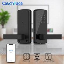 אלקטרוני מנעול דלת Keyless חכם מנעול APP Bluetooth דיגיטלי מנעול דלת בית ודירה אבטחה