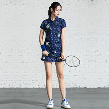 Women Tennis Skirt Badminton Skort Tenis Feminino Skirts Workout Sport Skirt Tennis Women Skirt with Shorts Sports Suit(China)