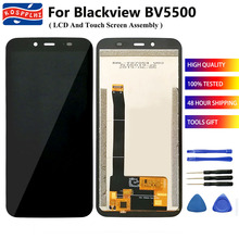 """5.5 """"100% Getest Voor Blackview BV5500 / BV5500 Pro Lcd Touch Screen Digitizer Vergadering Vervanging Voor BV5500Pro + gereedschap"""