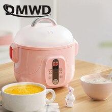 DMWD многофункциональные мультиварки тушение воды суп каша горшок керамическая посуда лайнер синхронизации яйца Пароварка еда приготовления машина
