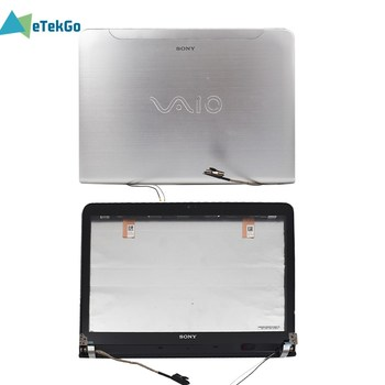 LCD Back Cover Front Digitizer Touch Screen Glass Bezel For Sony VAIO SVE14