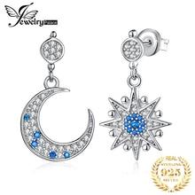 JewelryPalace Moon Star utworzono Spinel Drop kolczyki 925 srebro kolczyki dla kobiet koreański kolczyki biżuteria 2020