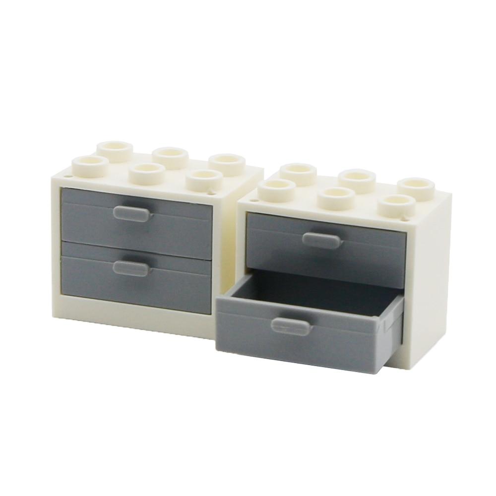 City Blocks Chest Drawer Cabinet Living Room Furniture Building