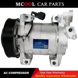 Dla DKS17D Auto sprężarka do klimatyzacji Nissan Navara Pathfinder 2.5 sprężarka nissan qashqai 26004X01B 926004X30A 926009X500