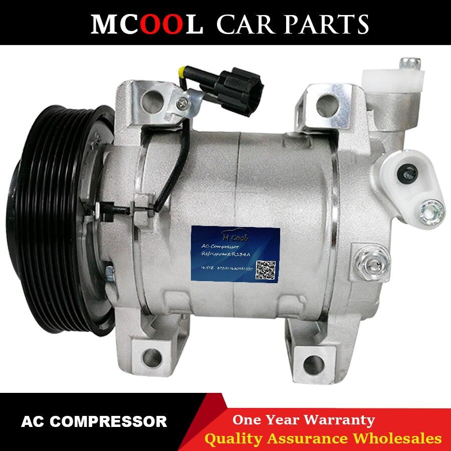 For DKS17D Auto AC Air Compressor Nissan Navara Pathfinder 2.5 nissan qashqai ac compressor 26004X01B 926004X30A 926009X500 Air-conditioning Installation     - title=
