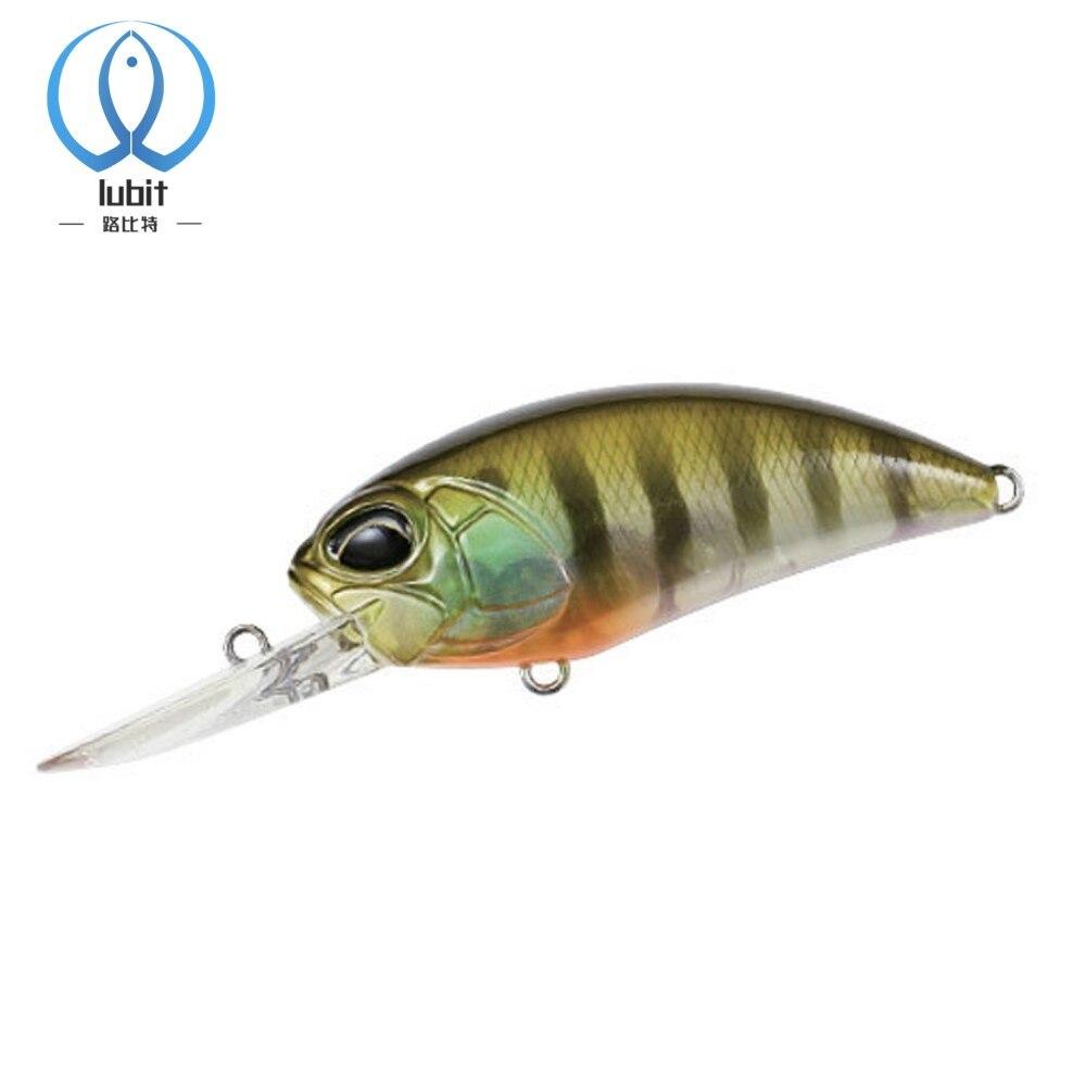 Lubit realis кренкбейты 65 мм, 15,5 г, рыболовная приманка, гольян, качели, приманки, Япония, воблеры для глубокого погружения, джеркбейты, рыболовные ...