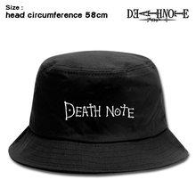 Летняя новинка аниме death note bucket hat yagami светильник