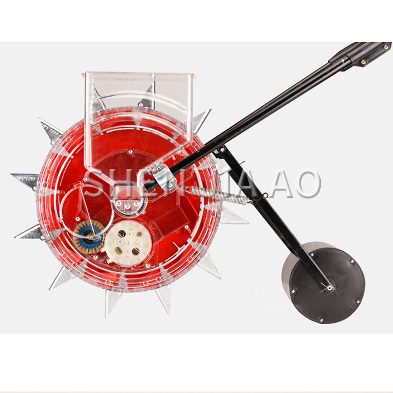 Hand Seeder Roller Push Corn Carousel Peanut Machine Seeder 1PC Tool Hand Tool Seeder Machine Point Soy Push Manual Precision