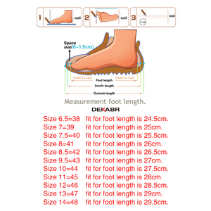 Image 5 - Classic Mens Sandals Summer Genuine Leather Male Beach Sandals Soft Comfortable Male Outdoor Beach Slippers Slip ON Man Sandals