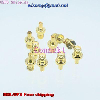 DHL/EMS 200pcs Adapter SMA Female Jack To TS9 Male Plug Gold Straight RF COAXIAL-A3
