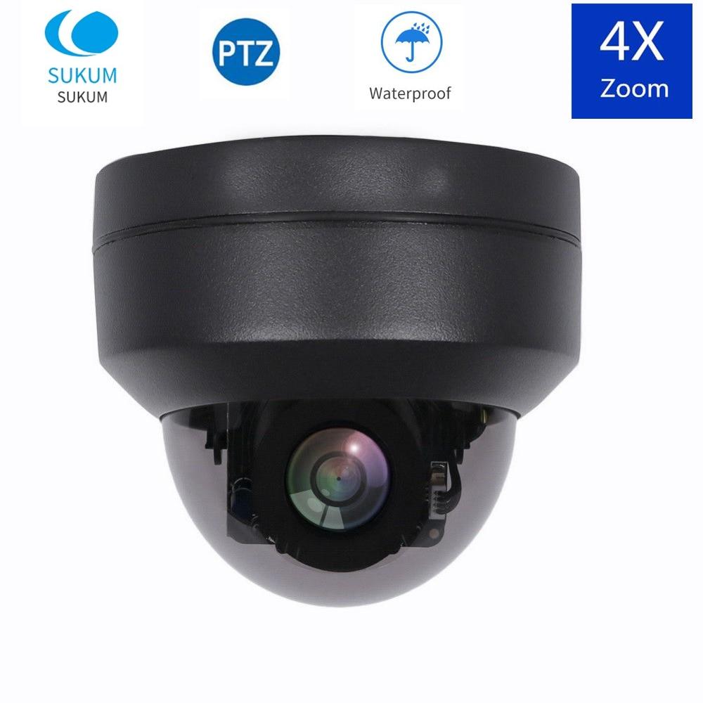 5MP Surveillance Mini caméra PTZ AHD 2.8-12mm objectif motorisé Distance IR 30M infrarouge sécurité à domicile dôme caméra analogique