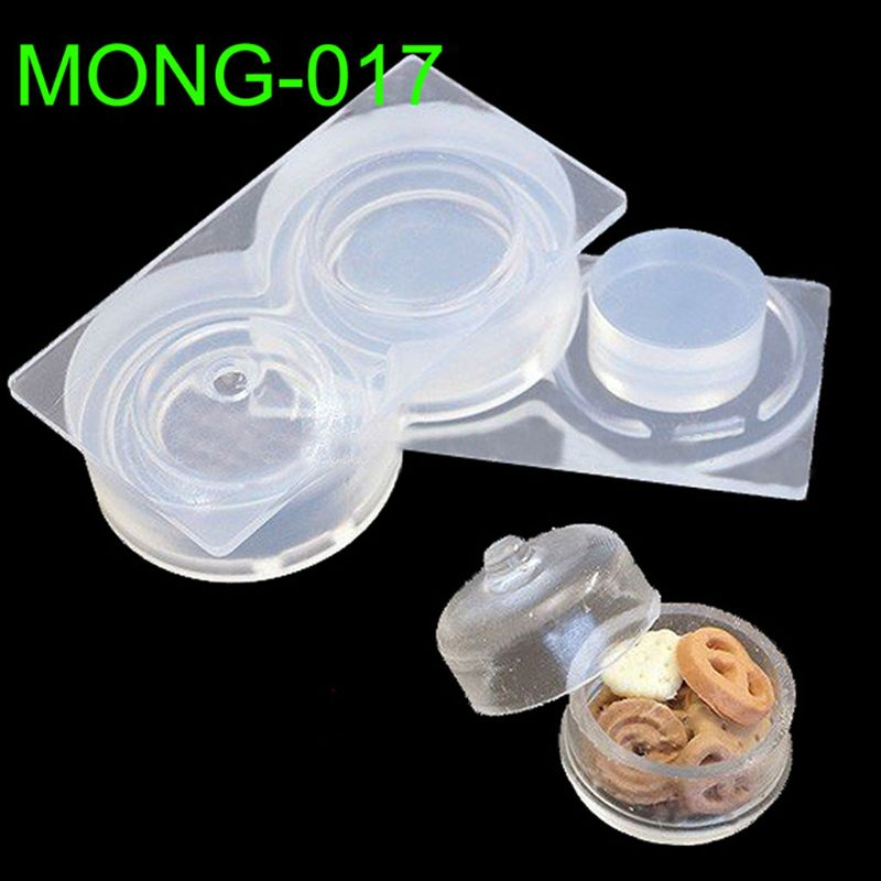 Small Hollow Storage Box With Lid Resin Silicone Mold Epoxy Resin Jewelry Tools