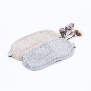 Image 2 - Original Youpin 8H Auge maske Reise Büro Schlafen Rest Hilfe Tragbare Atmungsaktive Schlaf Brille Abdeckung Fühlen kühles eis Baumwolle