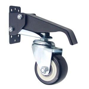 Image 1 - Ruedas móviles rueda de alta resistencia step down 360 grados giratoria mesa de trabajo Universal accesorios muebles Hardware duradero