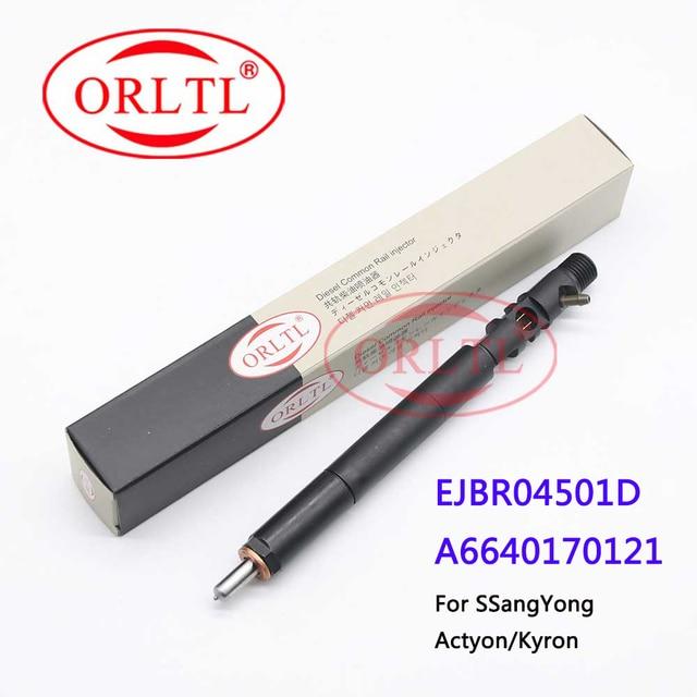 جهاز حقن الوقود ORLTL 4501D جهاز حقن الوقود EJBR04501D (A6640170121) حقن الديزل EJB R04501D ل سانج يونج أكتيون كيرون
