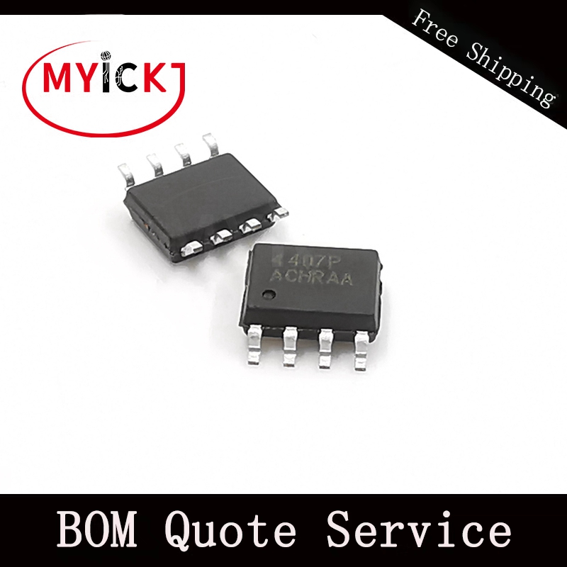 10PCS AM4407P SOP8 P-Channel 30-V (D-S) MOSFET IC CHIP