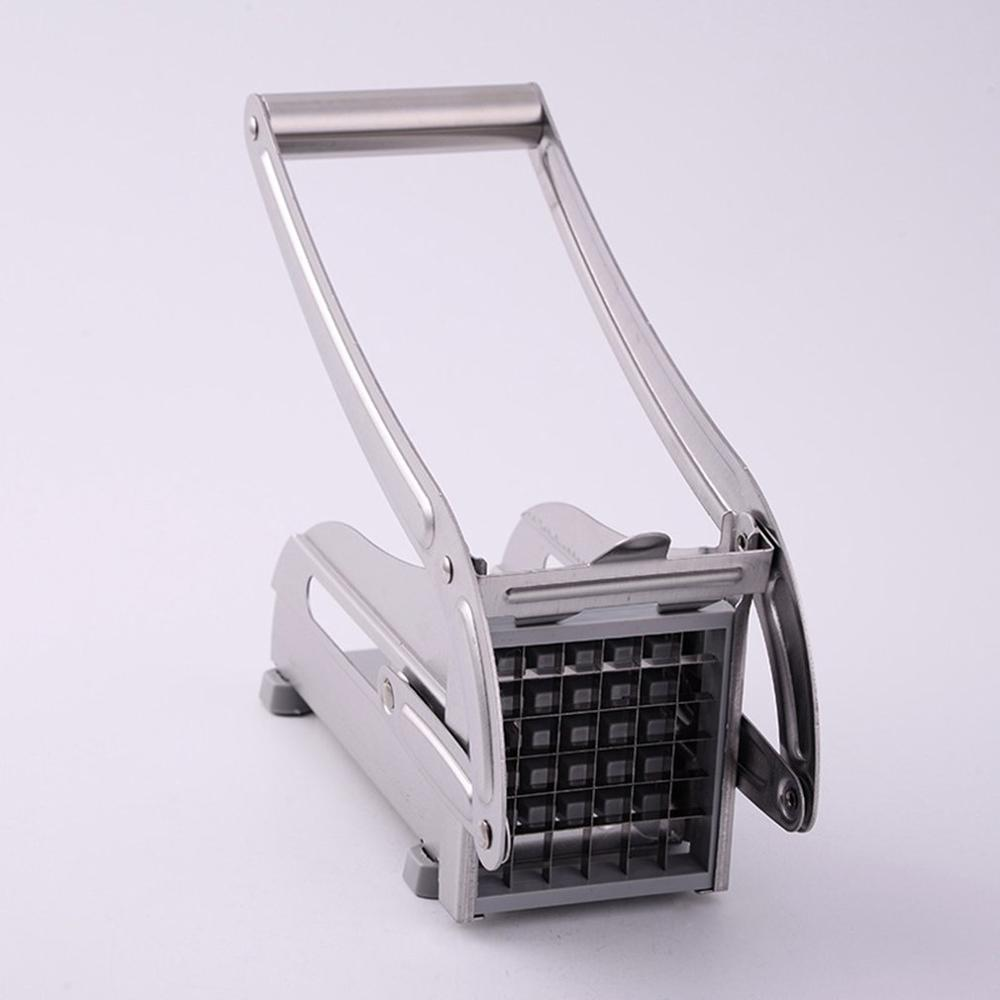 Stainless Steel Household Potato Cutters French Fries Cutting Machine French Fry Vegetable Cutter Dicer Machine