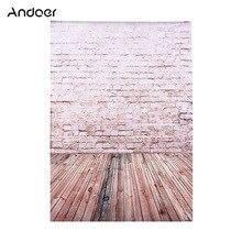 2*3m/6.6 * 9.8ft duża fotografia tło cegła drewniana podłoga wzór dla dziecka zdjęcie dzieci
