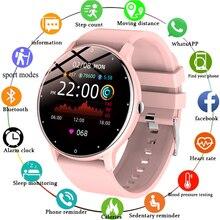 Lige-novo relógio inteligente masculino e feminino, smart watch com monitoramento de pressão arterial e sono, modelo 2021