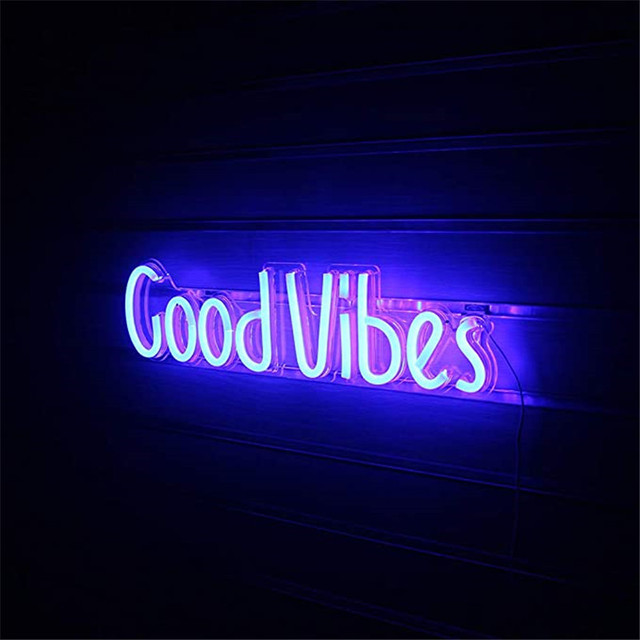 Good Vibes Neon Sign 4