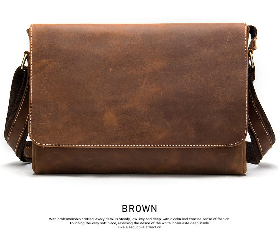 H52c43811614c409fba48afd8c223be9b5 WESTAL Men's Briefcases Laptop Bag Leather Lawyer/office Bags Messenger Bags Men's Crazy Horse Leather Briefcases Business Bag