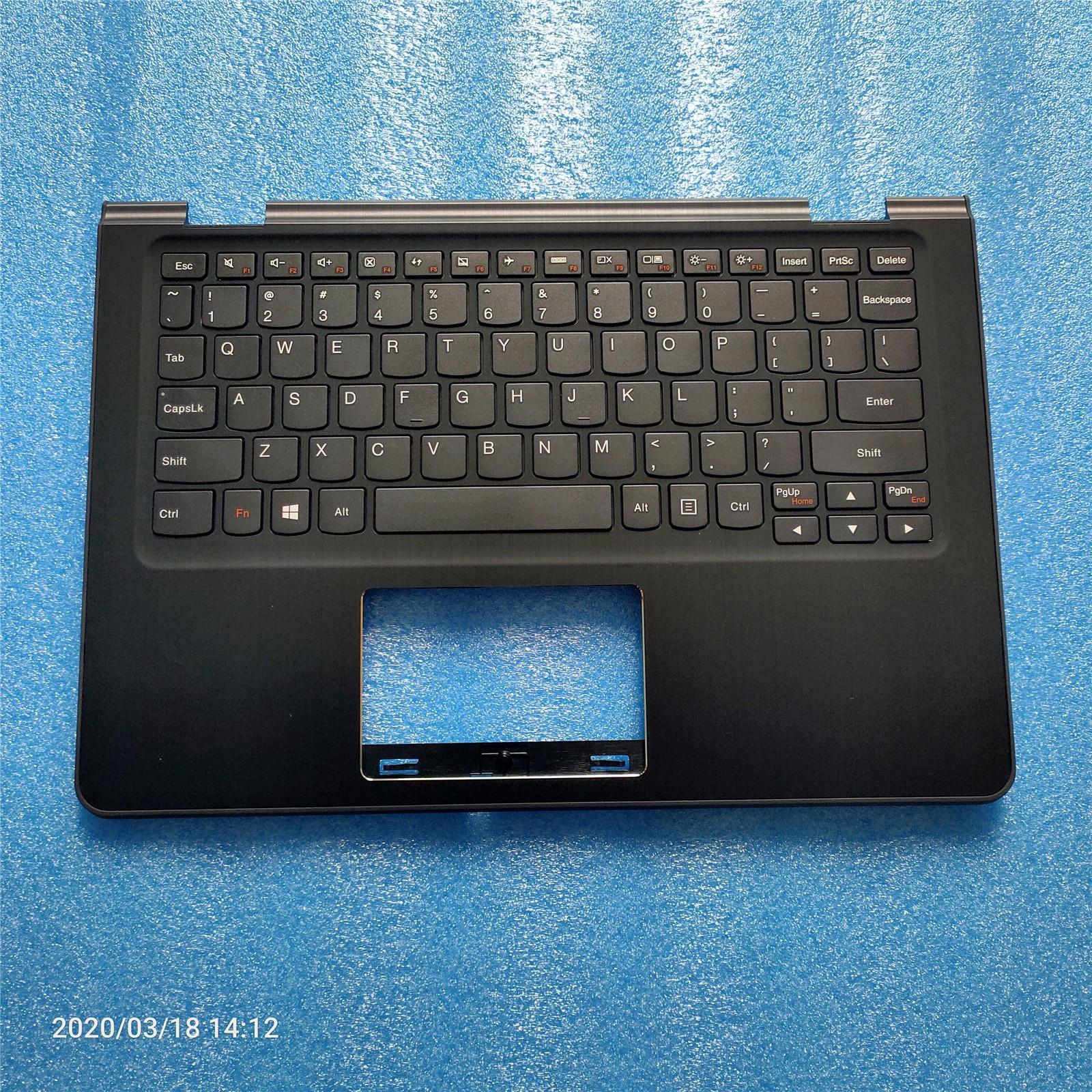 Nouveau Original pour Lenovo Flex 3 11 Yoga 300-11 Yoga 300 Palmrest boîtier supérieur couvercle de la lunette du clavier