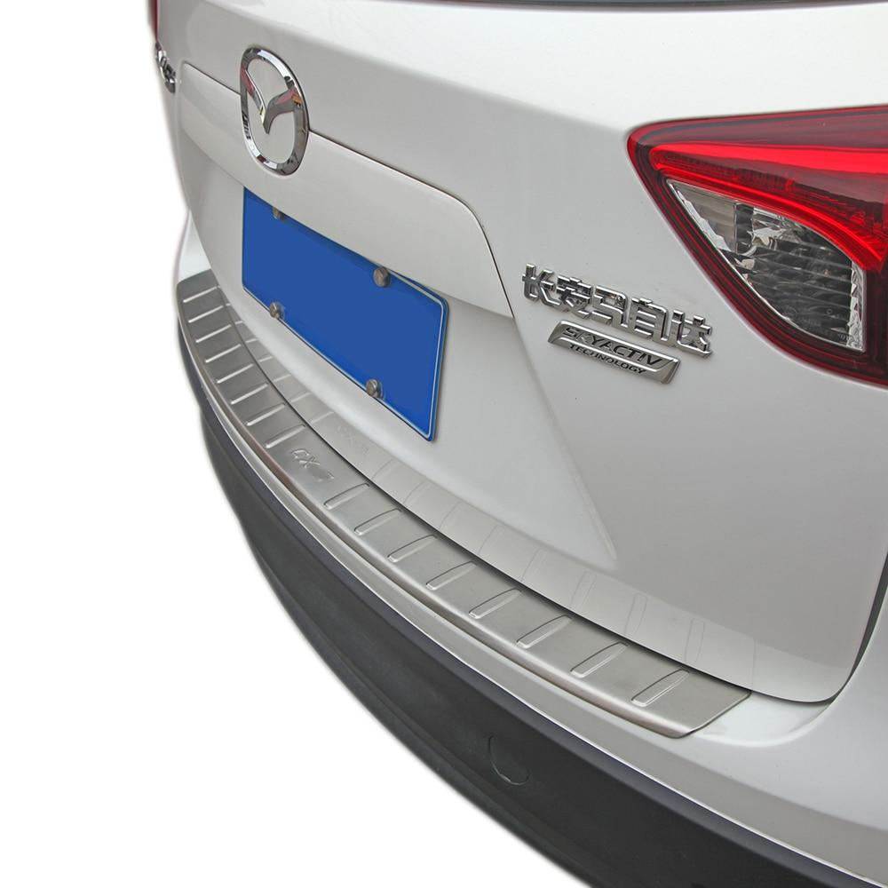 Zadní nárazník z nerezové oceli KOUVI pro zadní lištu pro Mazda CX-5 CX5 2012 2013 2014 15 16 příslušenství
