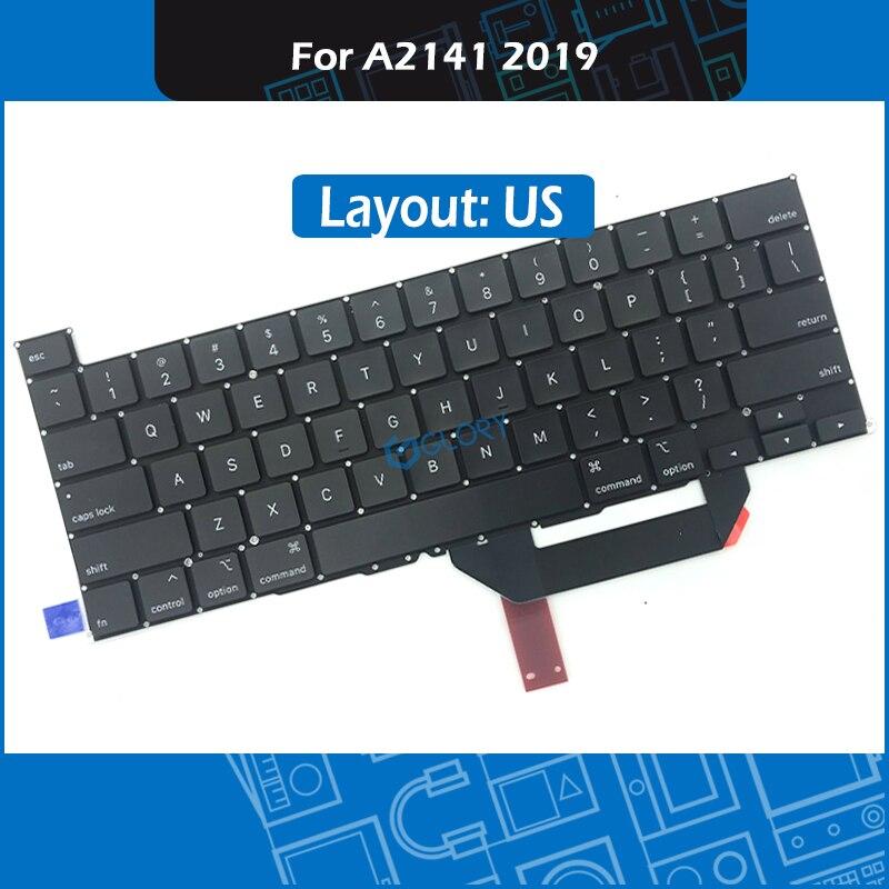 Teclado A2141 estándar para portátil de 2019 años para Macbook Pro Retina 16