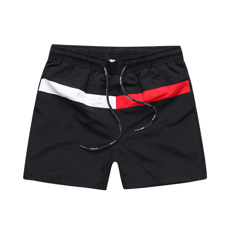 Summer Splice Letter Casual Cool Shorts Gyms Fitness Sportswear Bottoms Male Running Training Quick Dry Beach Short Pants