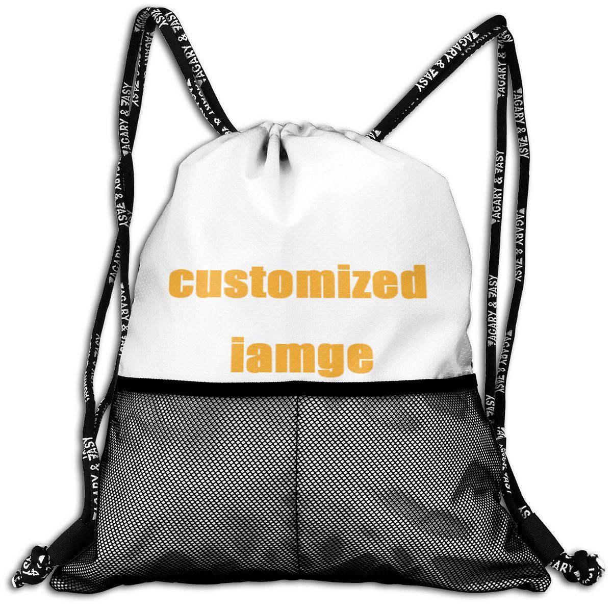 NOISYDESIGNS Custom Drawstring Bags For Women Men FashionBackpack Shopping Female Daily Casual Girl's Knapsack Customized