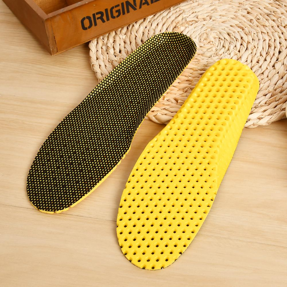 Shock Cushion Shoes Pad For Men Women Fitness Sport Shoes Accessories Insoles Breathable In Sneakers Orthopedic Light Deodorant