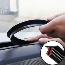 Автомобильная резиновая уплотнительная лента 1,6 м уплотнительные полосы приборной панели автомобиля Лобовое стекло u-образная звукоизоляция Авто приборной панели уплотнительные полосы