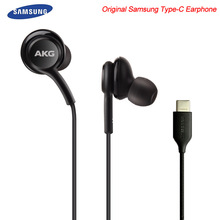 Original Samsung Galaxy Note 10 + Type C Earphones In-ear Wired Mic Volume Contr