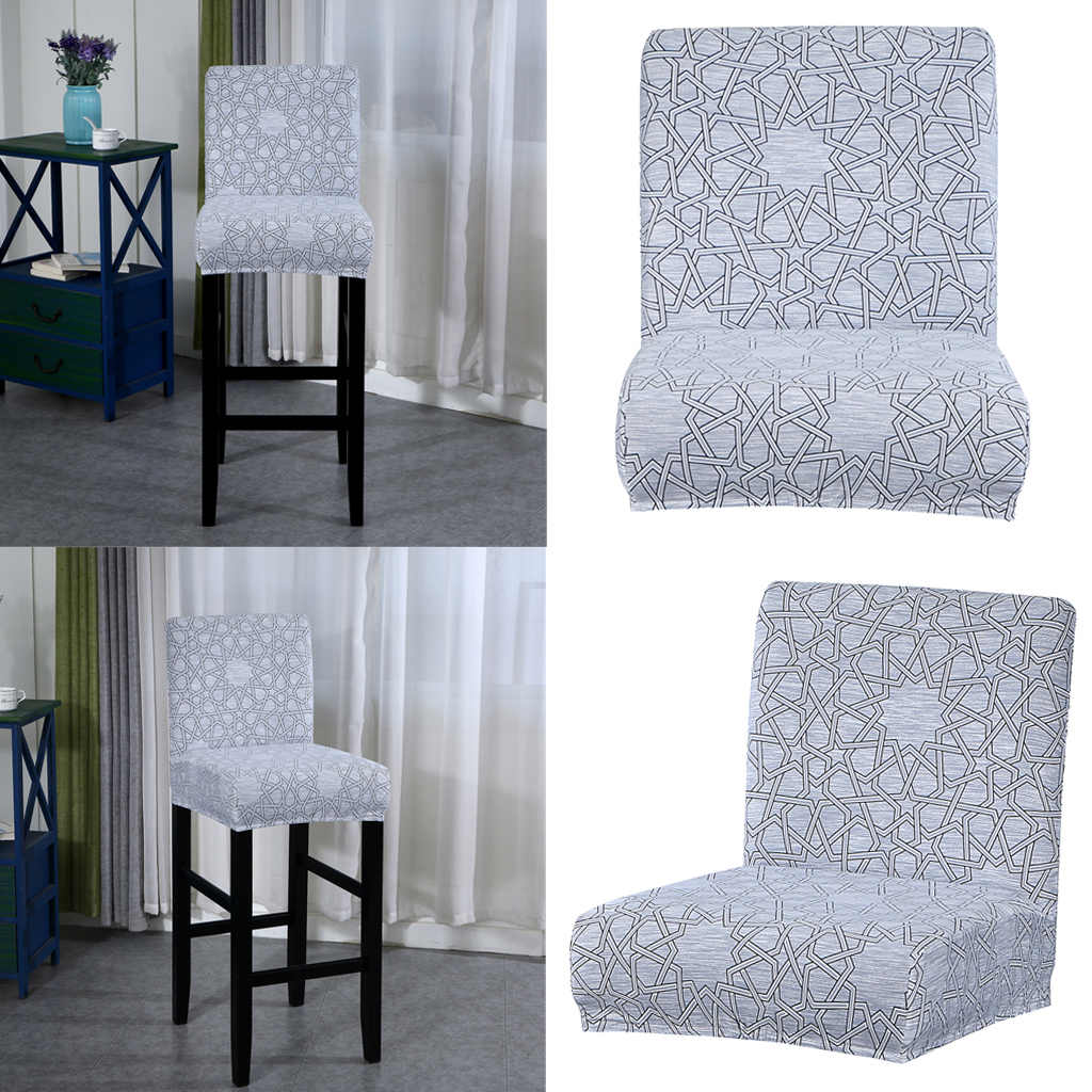 Stretch Counter Height Bar Stool Slipcover High Seat Dining Chair Covers Chair Cover Aliexpress