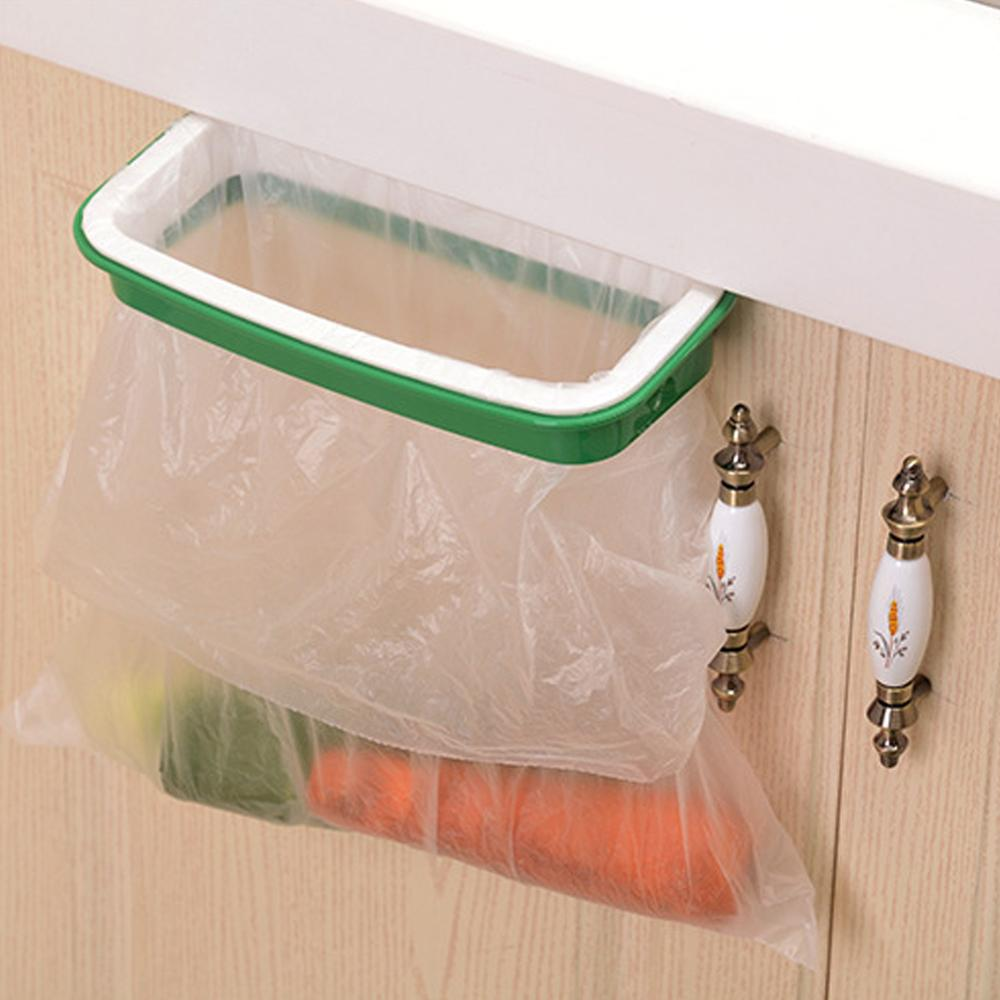 EverChic Garbage Bag Holder Hanging Rubbish Bags Rack For Kitchen Cupboard Cabinet Tailgate Stand Storage Kitchen Accessories