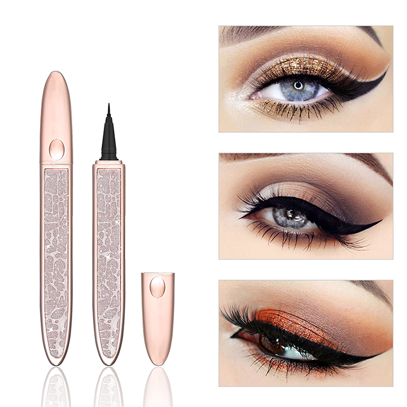 HERES B2UTY Professional Waterproof Liquid Eyeliner Beauty Cat Style Black Long-lasting Eye Liner Pen Pencil Makeup Cosmetics
