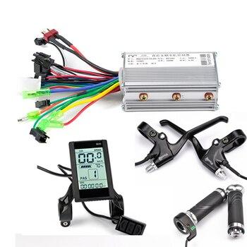 Thumb Throttle for Electric Bike Controller Kit E Bike Motor Controller Sensorless Bldc Electric Bike Controller 48V Motor Kit