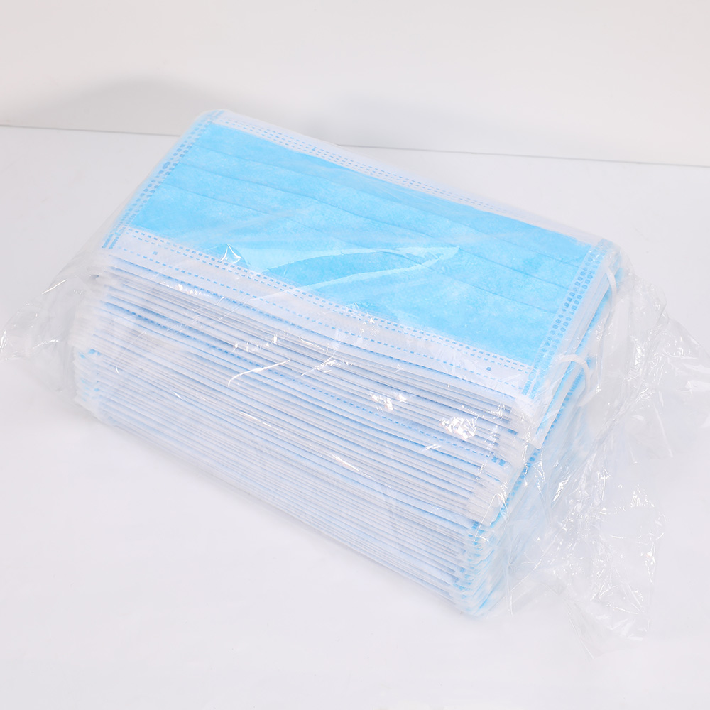 Disposable Safe Filter Breathable Protective Surgical Mask 3 Layer Filter Medical Mask Face Mouth Anti-Dust Earloops Masks-4