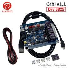 GRBL 1,1 USB ЧПУ гравировальный станок плата управления 3 оси управления лазерной гравировкой доска Drv8825