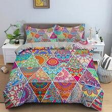 Домашний Текстиль печатных Постельное белье Радужный комплект