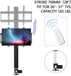 700 مللي متر التلقائي البلازما/LCD حامل تلفزيون بمحركات مع قوس جبل و وحدة تحكم لاسلكية ل 26 -57