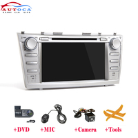 IPS Android 9 2 DIN CAR Multimedia DVD PLAYER For Toyota Camry 2007 2008 2009 2010 GPS navigation radio screen stereo head unit