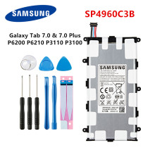 цена на SAMSUNG Orginal Tablet SP4960C3B battery 4000mAh For Samsung Galaxy Tab 2 7.0/7.0 Plus GT-P3100 P3100 P3110 P6200 +Tools